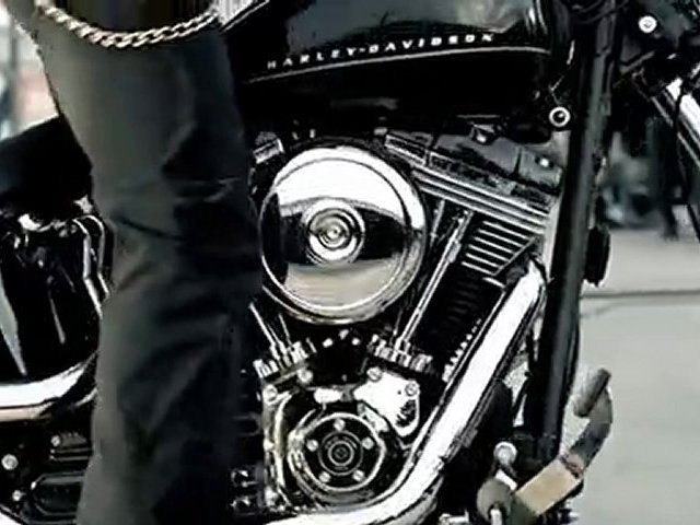 Harley-Davidson 1584 Blackline