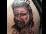 BIBISS TATOO tatouage johnny hallyday