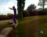 Echec saut périlleu arriere - Back flip fail