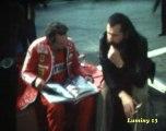 Niki Lauda ,Clay Reggazzoni en essai au circuit Paul Ricard