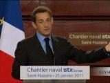 Politique industrielle de la France : discours de M. Sarkozy
