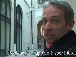 Vid�o de Jasper Fforde