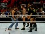 WWE RAW 17.01.11 -  Mason Ryan sosie de Batista détruit Cena