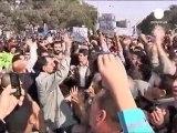 Protestas en Egipto alentadas por los resultados de las...