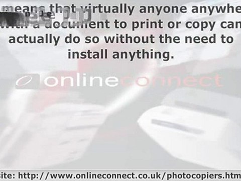 Driver Free Digital Photocopiers