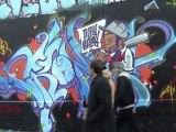 Mur des Pyrénées - Graffeurs en action - # 2 -