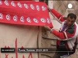 Face-à-face en Tunisie entre militants pro... - no comment
