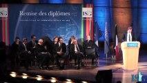 Remise de diplômes ISG promo 2010 - Discours de Marc Sellam