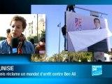 Mandat d'arrêt contre Ben Ali