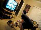Régis & le Chien... (Lol) Gamelle Wii-Fit