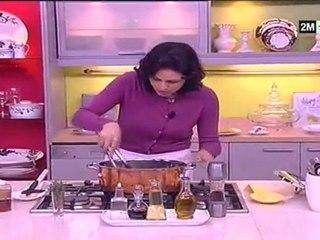 Recette calamars farcis et Soupe d'ailes de poulet
