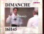 Bande Annonce de la Série Zorro janvier 1994 TMC