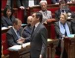 Question à François Fillon sur la chute de Ben Ali