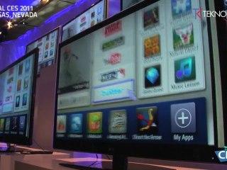 TEKNOLOGIK.fr (CES 2011) : TV CONNECTÉES