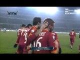 Juventus - Roma 0-2 di Coppa Italia (Vucinic, Taddei)