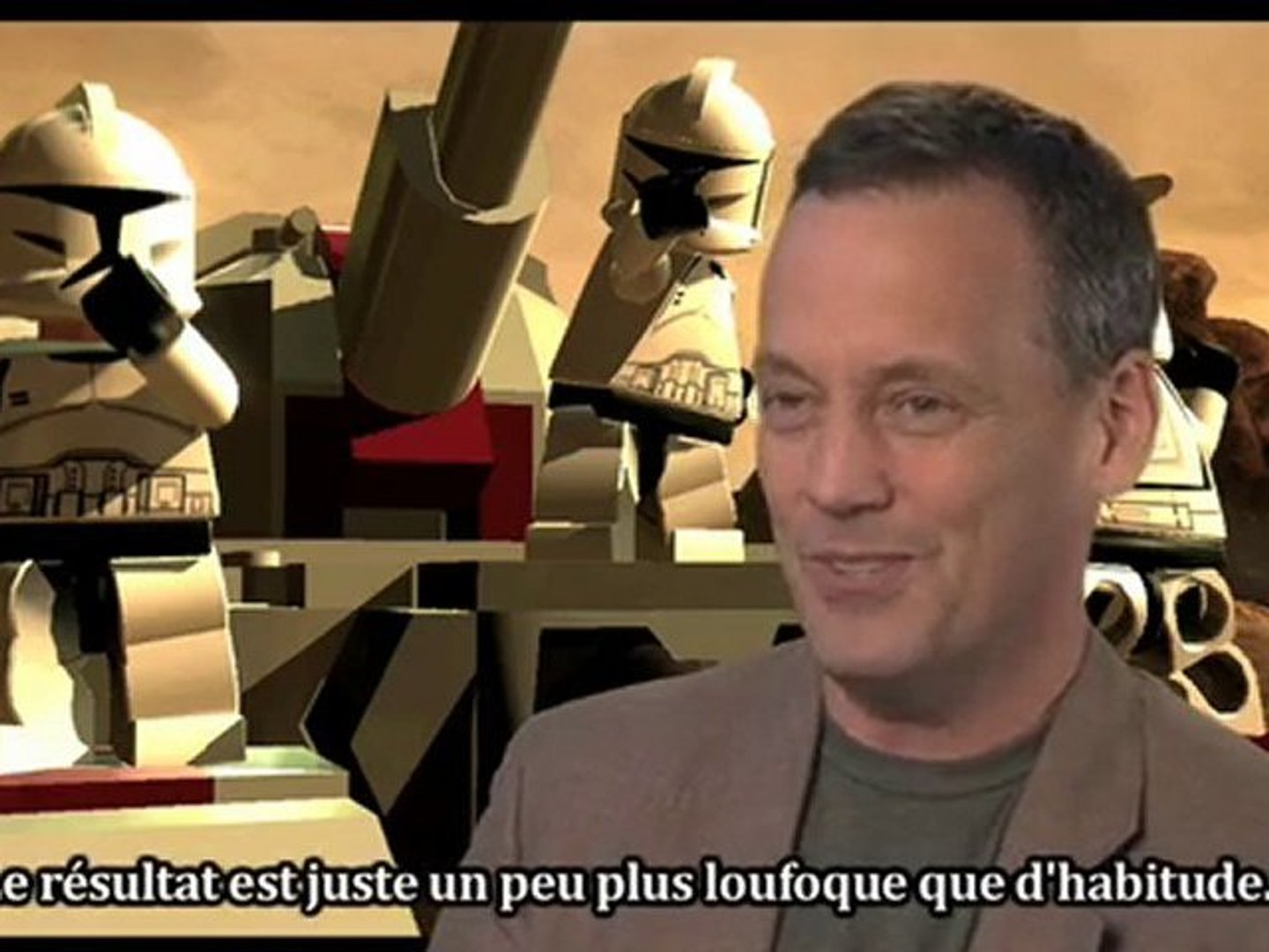 Making of Lego Star Wars III : The Clone Wars - le doublage