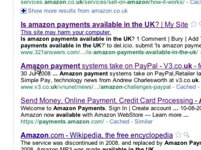 Google Search, Dangerous & Useless Websites