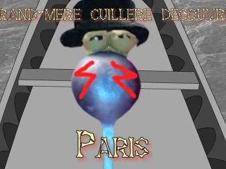 Les voyages de Grand-Mère Cuillère 4# - Paris