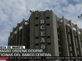 Laurent Gbagbo ordena  ocupar oficinas de Banco Central en Costa de Marfil