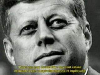 Le discours de Kennedy sur les sociétés secrètes