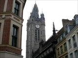 le carillon de Douai sonne 11h-Douai belfry carillon rings 1