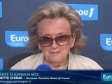 """Bernadette Chirac : """"mon mari n'a pas Alzheimer"""""""