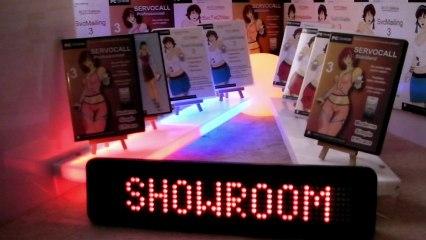 SerWorker : Domotique Showroom automatique