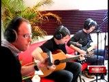 Random Memori en live dans les studios Méga FM