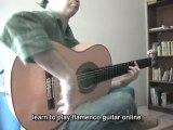 Vicente Amigo - Guitar Lesson - El Mandaito