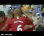 Rooney gets tripped, C. Ronaldo Penalty Kick Goal -- Manchester United vs Wigan