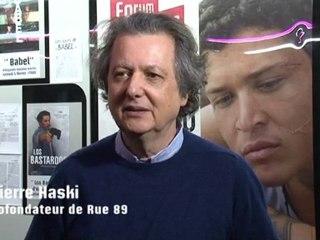 Entretien avec Pierre Haski