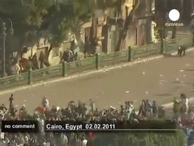 Clashes erupt during Egypt protests - no comment
