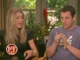"Jen Aniston & Adam Sandler ""Just Go With It"" - ET Interview"
