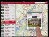 L'application Sutton Québec dans la publicité du iPad