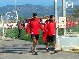 Novetats a l'entrenament del RCD Mallorca