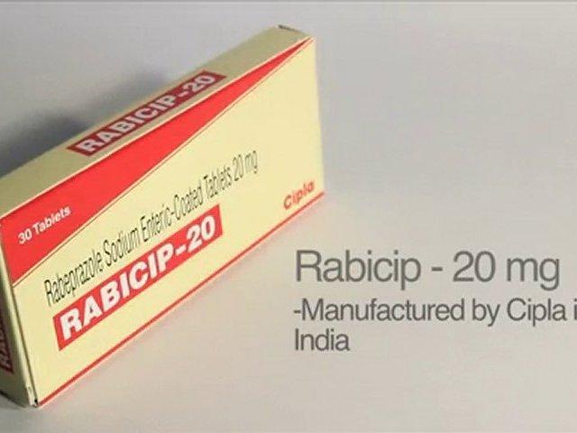 Rabeprazole Sodium 20 mg tablets – Rabicip for GERD