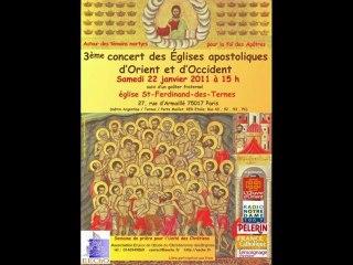 Concert pour les martyrs
