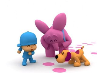 Pocoyo - Mystery Footprints