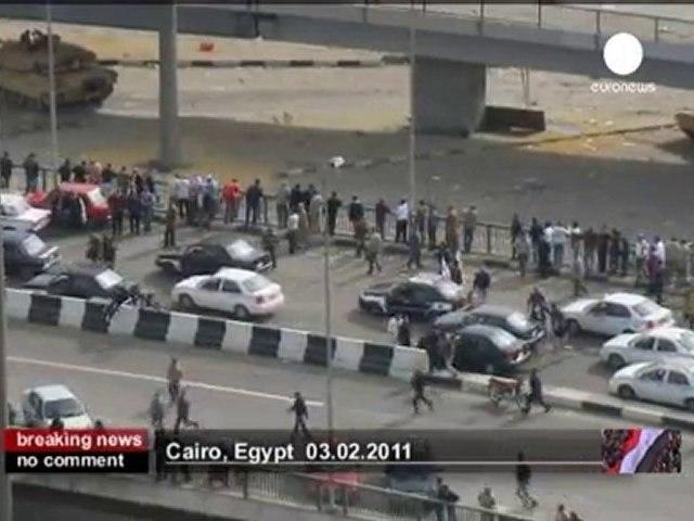 10e jour de manifestations sur la place Tahrir - no comment