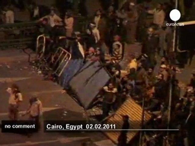 Escalade de violence au Caire - no comment