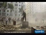 """Egypte : """"On joue au chat et à la souris"""""""