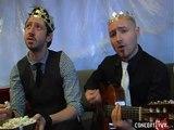 Les Rois de la Suède expliquent pourquoi ils ont fait une chanson sur Gustav (1min43)