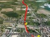 Projet de voie verte Communauté de communes Montrevel