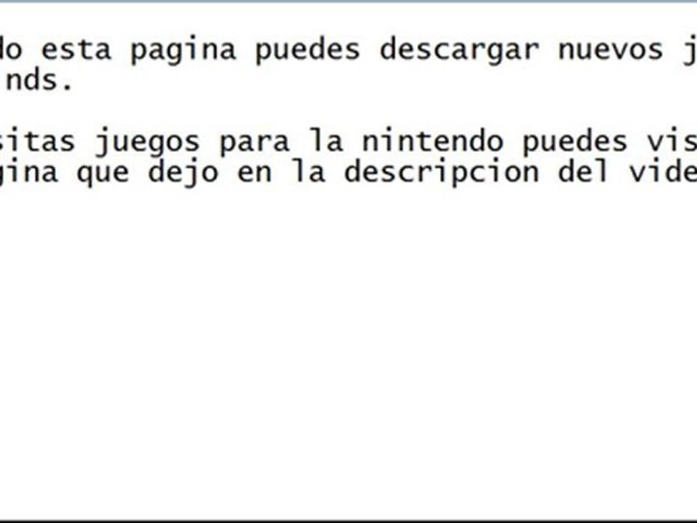 Como Descargar Juegos Para La Nintendo Ds Vídeo Dailymotion