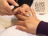 Pose d'ongles sur ongles naturels