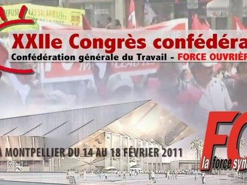 Intro Congrès fo 2011