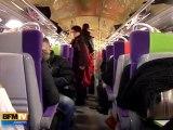 Les usagers du train Paris-Rouen en colère