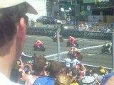 Départ moto gp Le Mans 2010