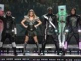 la performance monstrueuse des Black Eyed peas au Superbowl