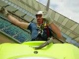 Steve Fisher - Bungee jump kayaking in 2010 World Cup Stadium - Steve Fisher